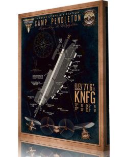 KNFG MCAS Camp Pendleton Airfield Art