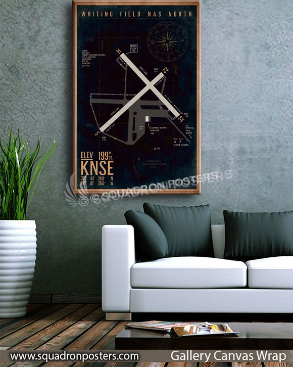 KNSE_Whiting_NAS_North_Airfield_Art_SP01450-squadron-posters-vintage-canvas-wrap-aviation-prints