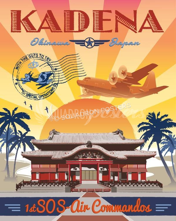 kadena-ab-1st-sos-c-130-V2-military-aviation-poster-art-print-gift