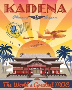 Kadena AB 18th Maintenance Operation Center kadena_18th_moc_sp01182-featured-aircraft-lithograph-vintage-airplane-poster-art