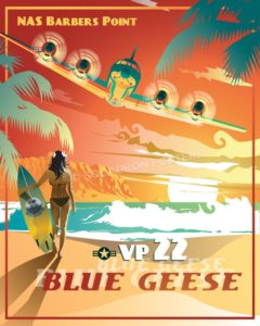 Kaneohe_Bay_P-3_VP-22_SP00964-featured-aircraft-lithograph-vintage-airplane-poster-art