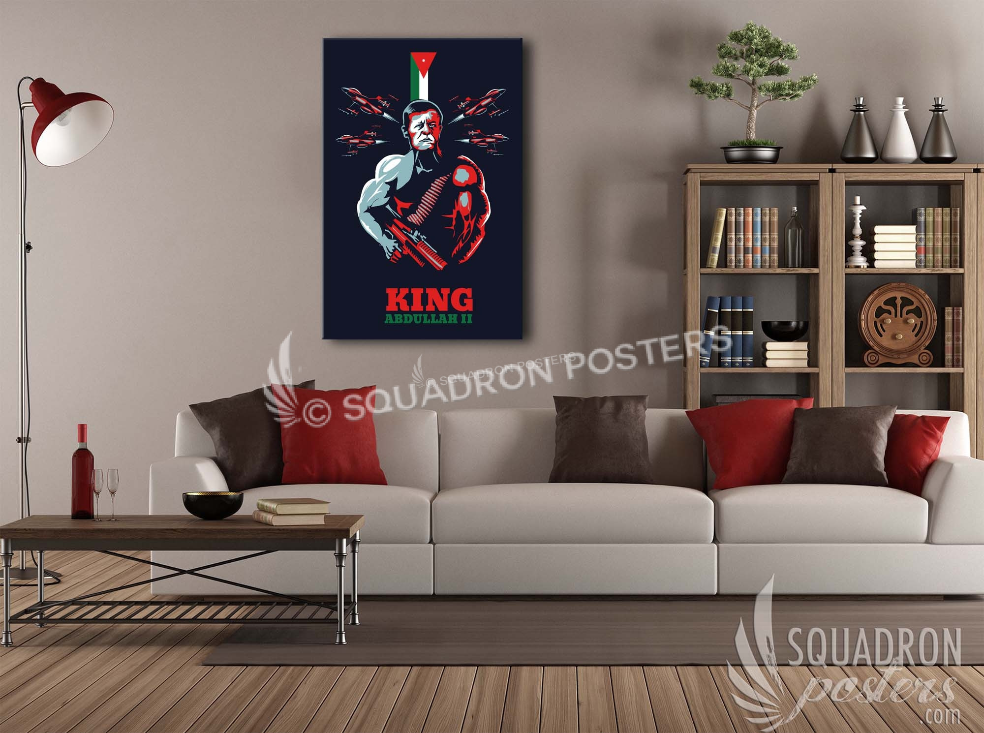 king abdullah ii poster squadron posters