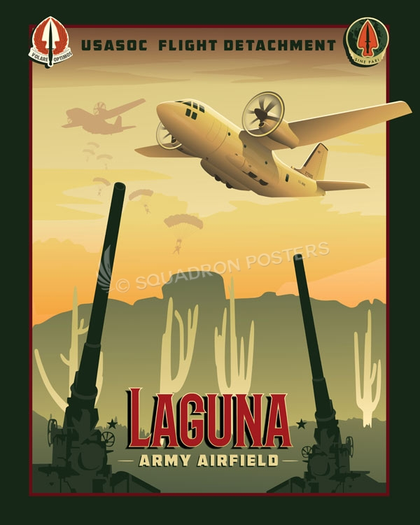 Laguna Army Airfield Laguna_Airfield_SP00917-featured-aircraft-lithograph-vintage-airplane-poster-art