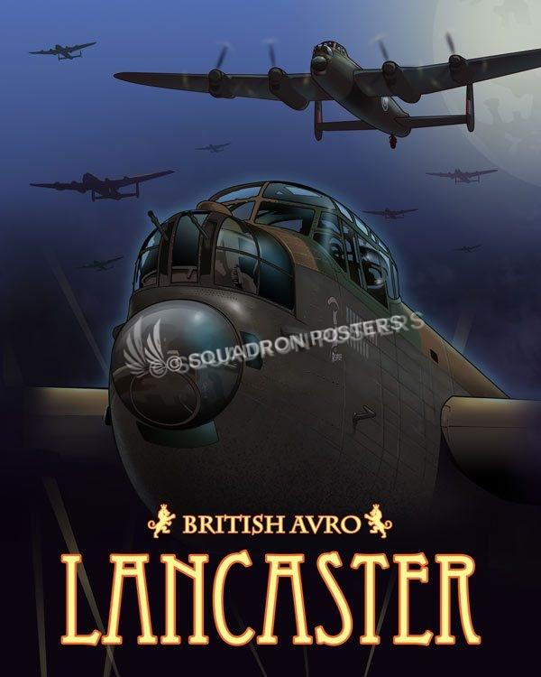 British avro lancaster squadron posters malvernweather Gallery