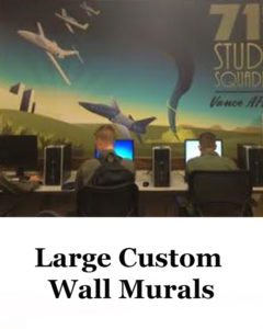 Large Custom Wall Murals