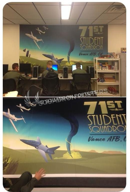 Large Custom Wall Murals by - Squadron Posters!