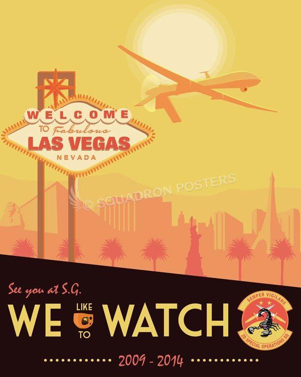 Las Vegas 2 SOS MQ-1 Las_Vegas_MQ-1_2d_SOS_SP01476-featured-aircraft-lithograph-vintage-airplane-poster-art