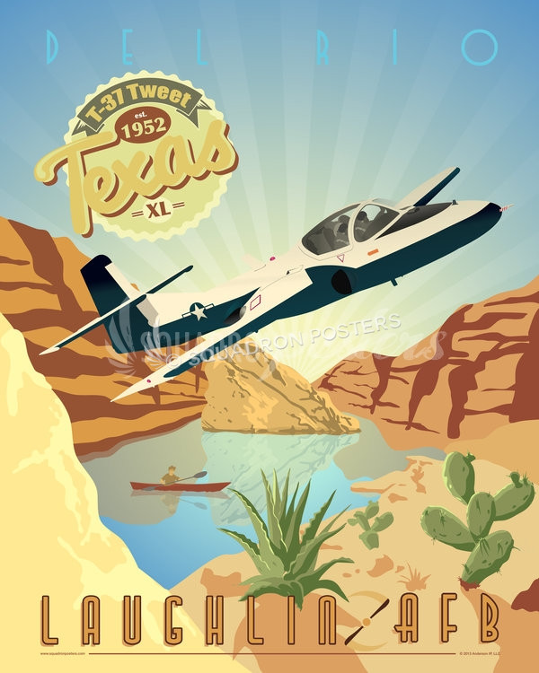 laughlin-afb-t-37-tweet-military-aviation-poster-art-print-gift