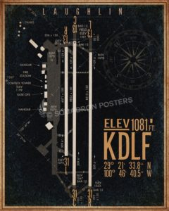Laughlin_AFB_KDLF_airfield_map-SP00895-featured-aircraft-lithograph-vintage-airplane-poster-art
