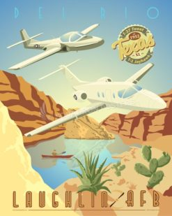 Laughlin T-1 and T-37 SP00675 feature-vintage-print