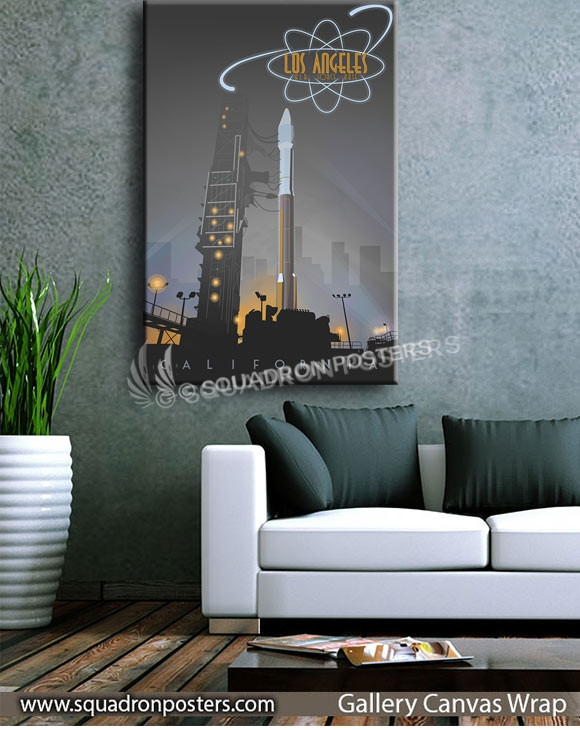 Los Angeles AFB Atlas V-SP01249-squadron-posters-vintage-canvas-wrap-aviation-prints