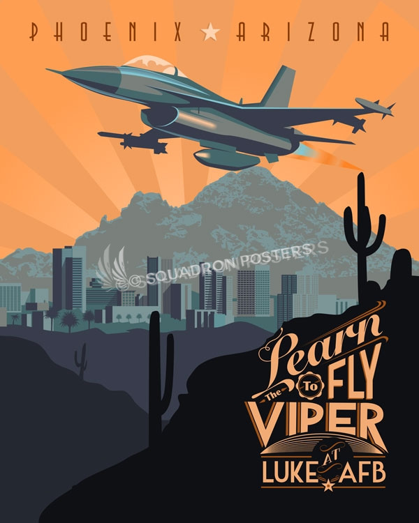 Luke-f-16-military-aviation-poster-art=print-gift