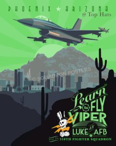 Luke_F-16_310th_FS_Tophats_SP01116-featured-aircraft-lithograph-vintage-airplane-poster-art