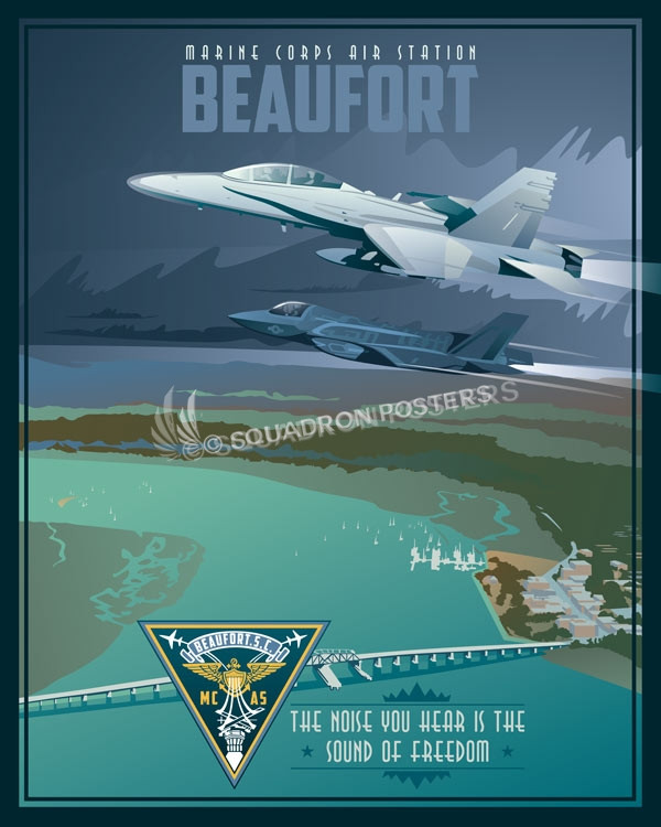 Marine Corps Air Station Beaufort F 18 And F 35 Squadron
