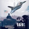 McEntire JNGB, 169 FW McEntire-Joint-National-Guard-Base_F-16_169th_FW_v2-SP01240-featured-aircraft-lithograph-vintage-airplane-poster-art