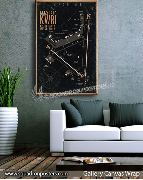 McGuire_Field_KWRI_airfield_map-SP00898-squadron-posters-vintage-canvas-wrap-aviation-prints