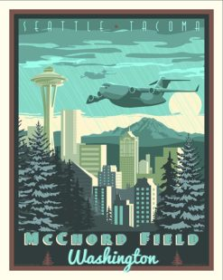 Mcchord-Field-vintage-military-aviation-travel-poster-art-print-gift