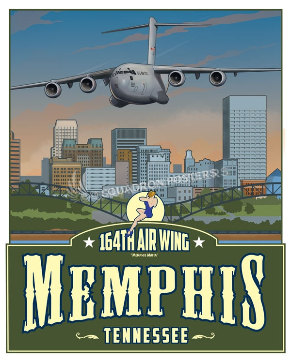 Memphis C-17 164th AW SP00657 feature-vintage-print
