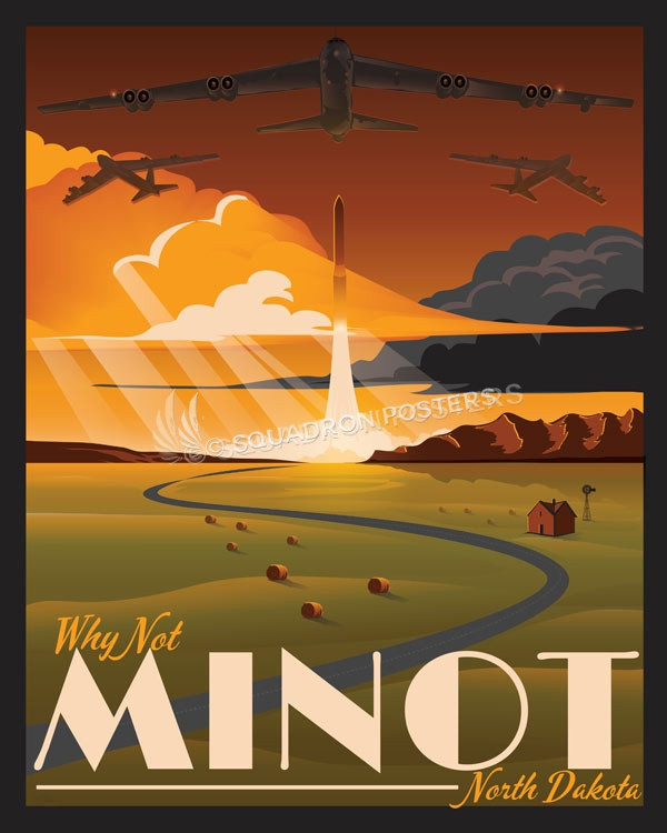 Minot Afb Fall Squadron Posters