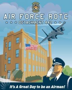 Det 442 - AFROTC missouri_university_rotc_det_442_sp01213-featured-aircraft-lithograph-vintage-airplane-poster-art