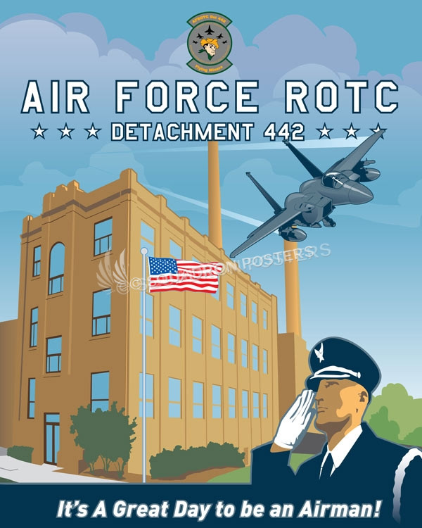 Det 442 - AFROTC missouri_university_rotc_det_442_sp01213-featured-aircraft-lithograph-vintage-airplane-poster-art