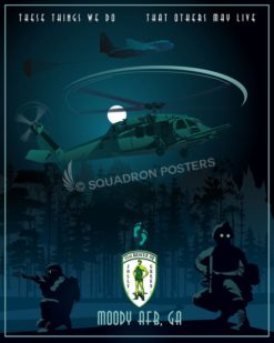 Moody AFB, 41 RQS moody_afb_georgia_hh-60_41st_rs_sp01183-featured-aircraft-lithograph-vintage-airplane-poster-art