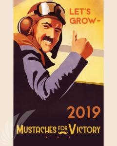 mustache march 2019