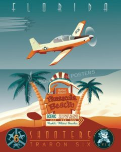 NAS_Pensacola_NAS-Whiting-Field-T-6_VT-6_SP01103-featured-aircraft-lithograph-vintage-airplane-poster-art
