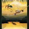 NAS_Whidbey_Island_WA_VP-4_P-8A_GENERIC_GOLD_SP01518-featured-aircraft-lithograph-vintage-airplane-poster