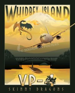 NAS_Whidbey_Island_WA_VP-4_P-8A_GOLD_SP01520-featured-aircraft-lithograph-vintage-airplane-poster-art