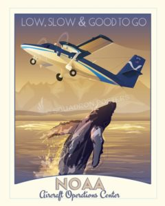 NOAA_AOC_v5_Twin_Otter_SP00950-featured-aircraft-lithograph-vintage-airplane-poster-art