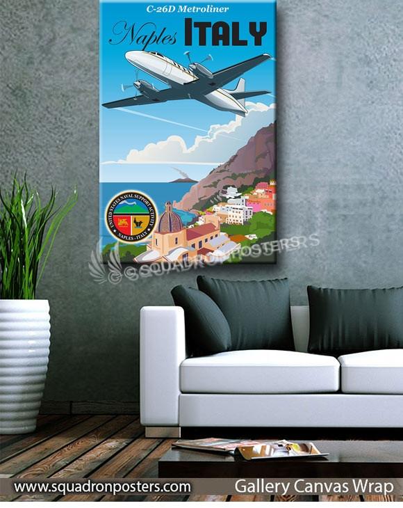 Naples_Italy_C-26D_Naval_Support_SP01344-squadron-posters-vintage-canvas-wrap-aviation-prints