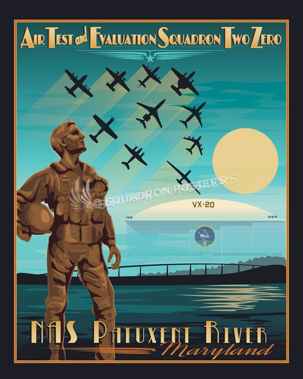 Nas_Patuxent_River_Air_Test_and_Eval_VX-20_SP00839-featured-aircraft-lithograph-vintage-airplane-poster-art