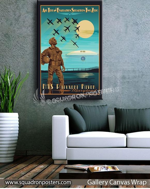 Nas_Patuxent_River_Air_Test_and_Eval_VX-20_SP00839-squadron-posters-vintage-canvas-wrap-aviation-prints