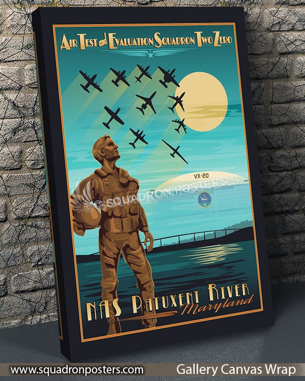 Nas_Patuxent_River_Air_Test_and_Eval_VX-20_SP00839-vintage-travel-poster-aviation-squadron-print-poster-art