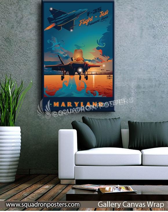 Nas_Patuxent_River_F-35_GENERIC_v1_SP01479-squadron-posters-vintage-canvas-wrap-aviation-prints