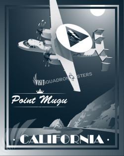 Nas Point Mugu E-2C Weapons School SP00682 feature-vintage-print