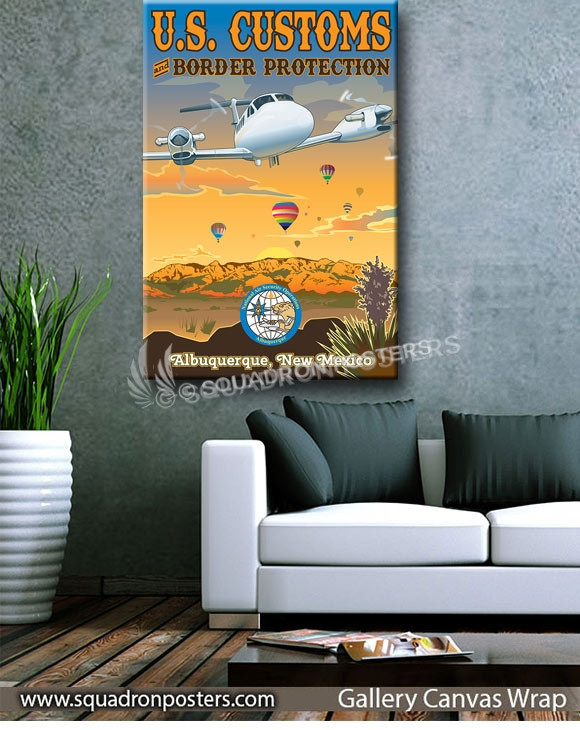 New_Mexico_King_Air_Customs_and_Border_Control_GENERIC_SP01369-squadron-posters-vintage-canvas-wrap-aviation-prints