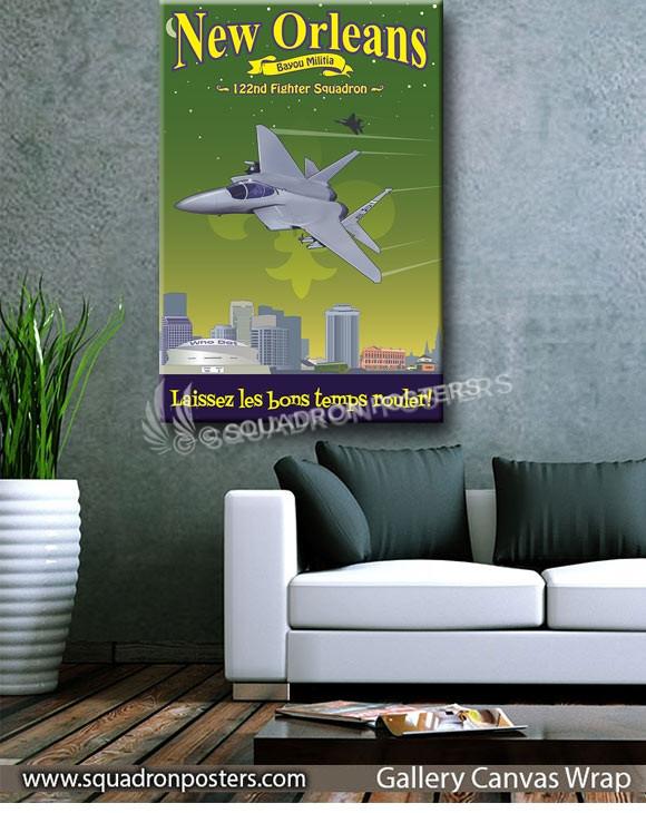 New_Orleans_F-15_122_FS_SP01429-squadron-posters-vintage-canvas-wrap-aviation-prints