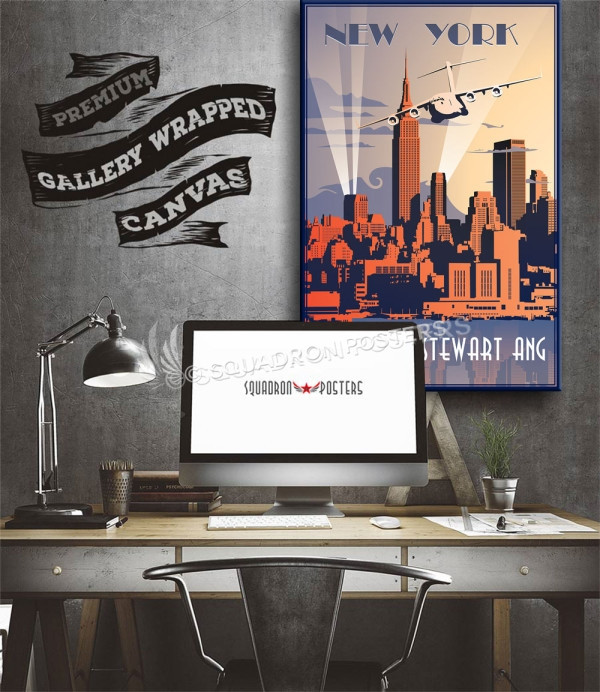 New York C-17 137 AS SP00684 aircraft-prints-posters-vintage-art