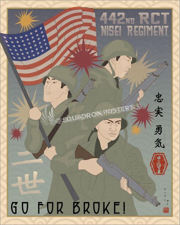 Nisei_Regiment_SP00752-featured-military-lithograph-vintage-poster-art