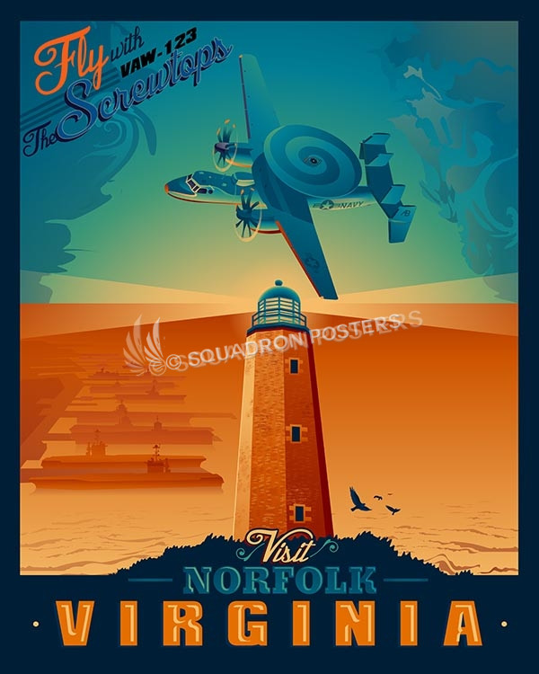 Norfol-VAW-123-Screwtops-SP00492-vintage-military-aviation-travel-poster-art-print-gift