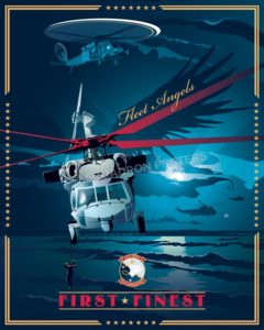 Norfolk_MH-60S_HSC-2_SP00966-featured-aircraft-lithograph-vintage-airplane-poster-art