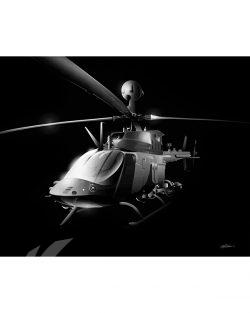 oh-58-kiowa-warrior-jet-black-sp01132-feat-jet-black-aircraft-lithograph-art