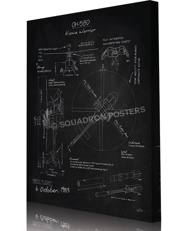 oh-58d_kiowa_warrior_blackboard_blueprint-sp01149-aircraft-prints-posters-vintage-art