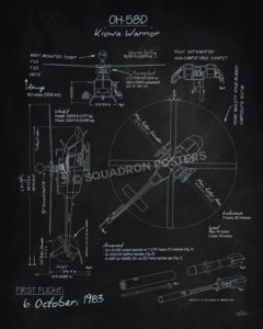 oh-58d_kiowa_warrior_blackboard_blueprint_sp01149-featured-aircraft-lithograph-vintage-airplane-poster-art