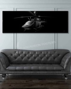 OH-58 Jet Black Lithos