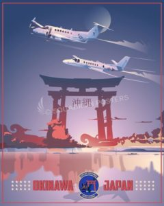 Okinawa_Japan_C-12_UC-35_SP00977-featured-aircraft-lithograph-vintage-airplane-poster-art