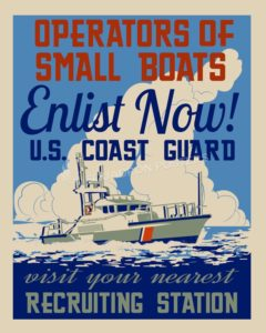 Operators of Small Boats USCG SP00700 feature-vintage-print