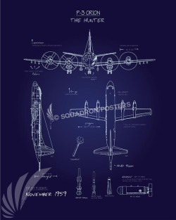 P3 orion blueprint art squadron posters malvernweather Image collections